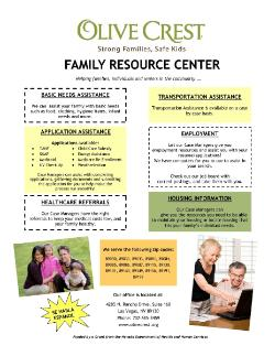 Olive Crest Family Resource Center